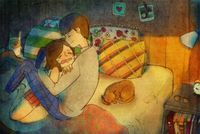 25 Beautiful Illustrations Show Us What Love Really Looks Like.
