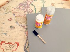 map table supplies