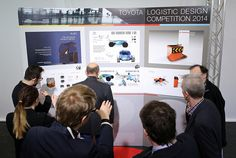 TMHE Introduces the Logistic Design Competition Winners of 2014   by Toyota Material Handling EU