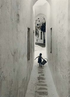 Mykonos, Greece, 1951, David Seymour. Polish (1911 - 1956)