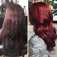 Joico Red Ruby Hair Color Cool Formulas