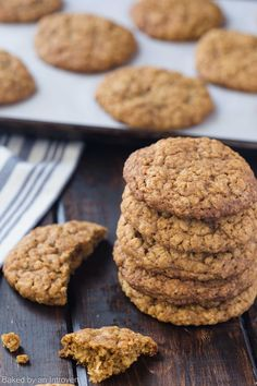 These homemade pumpkin oatmeal cookies are an incredible twist to the classic oatmeal raisin version. These homemade pumpkin oatmeal cookies are an incredible twist to the classic oatmeal raisin version.