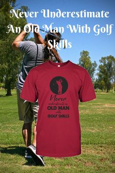 I love this funny golf shirt, it is so true! If you are looking for Golf clothing products for men then this is the place. Get ready for one happy Dad by grabbing one of these great gifts from the Tee Golfer store. The website provides golf humor in the f Funny Christmas Outfits, Christmas Humor, Christmas Birthday, Christmas Clothes, Funny Golf Shirts, Cool Shirts, Golf Etiquette, Golf Gifts For Men, Golf Quotes