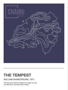 literature-inspired topographic maps 👉 etsy.com/shop/ChaibuStudio