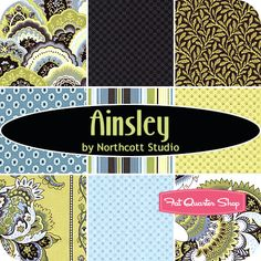 Ainsley Fat Quarter Bundle Northcott Studio for Northcott Fabrics - Fat Quarter Shop