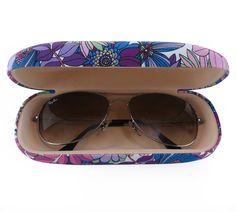 3bc85ddfbf53d Estojo Porta óculos de sol e de grau, case de óculos. Estojo de óculos
