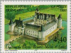 Sello: The castle of Plessis Bourre (Francia) (Tourism) Yt:FR 3081,Mi:FR 3217