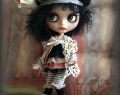 RESERVED on layaway....Custom OOAK Blythe doll.