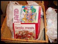 Great family gift basket. What fun!