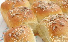 Булочки на простокваше с семенами  | Кулинарные рецепты от «Едим дома!»