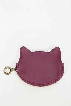 Gato Leather Zip-Pouch