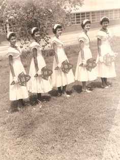 CultureSOUL *Sepia Visions* - Vintage Female Greeks - The African Americans - AKA sorority  4. Texas College c. 1950s