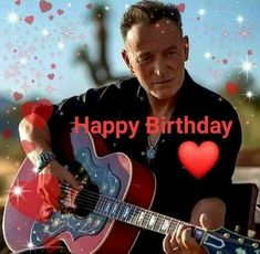 Elvis Presley, Happy Birthday Boss, The Boss Bruce, E Street Band, Bruce Springsteen, Special People, Rock And Roll, Concert, Thunder