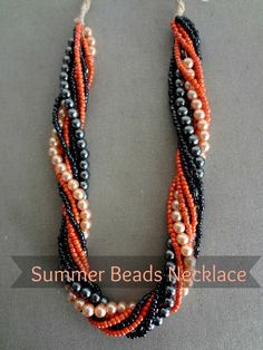 Little Treasures: Summer Beads Necklace
