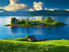 Beautiful Island, Norway. | Wonderful Places