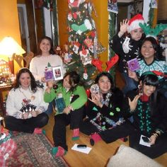 Original Pinner SuperMoM! First Annual Ugly Sweater Christmas Party 2010!