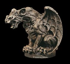 Shop - The Gargoyle Statuary Gothic Gargoyles, Cathedral Architecture, Ancient Mysteries, Gothic Art, Art Portfolio, Art Sketchbook, Rock Art, Paranormal, Medieval