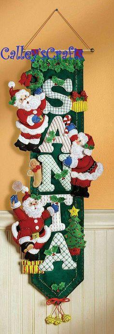 Campo Crafts Escarchado /& Ginger Adornos de Navidad patrón de costura Craft