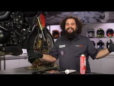 How To Change Motorcycle Brake Pads at RevZilla.com - YouTube