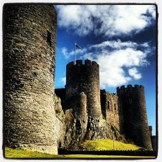 Photo by medusapunk, Conwy Castle