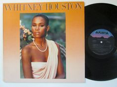 Vinyl Record Whitney Houston Record LP Album by RecordStoreGirl