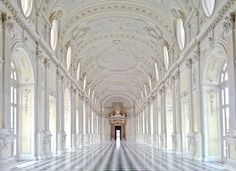 The gorgeous Palace of Venaria, Italy.