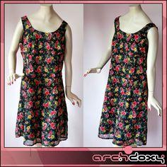Vintage 1960s Saucy Print Tie Back MOD Shift Cut Out Twiggy Wiggle Dress#vintagedress  http://www.ebay.co.uk/itm/Vintage-1960s-Saucy-Print-Tie-Back-MOD-Shift-Cut-Out-Twiggy-Wiggle-Dress-UK14-/371637261781?ssPageName=STRK:MESE:IT