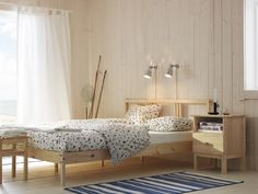 FJELLSE. Made of solid wood, which is a hardwearing and warm natural material.