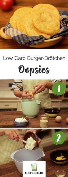 Low Carb Burger-Brötchen 'Oopsies' Big Kahuna Burger, Grilling, Food And Drink, Pudding, Healthy, Desserts, Carp, Paleo, Vegan