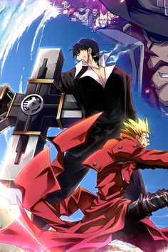 #Trigun Badlands Rumble | Wash & Wolfwood