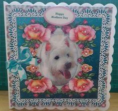 West Highland Terrier Puppy Dog Card Kit by Christine Garner