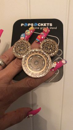 Bling by Angel - Popsockets, Badge Holders, Personalized Gifts 3d Iphone Cases, Bling Phone Cases, Iphone Cases Disney, Cool Phone Cases, Iphone 11, Cute Popsockets, Cell Phone Grip, Popsockets Phones, Diy Pop Socket