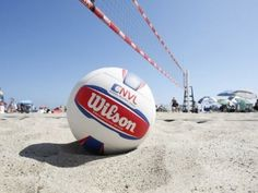 The official Volleyball fo the National Volleyball League