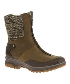 Look what I found on #zulily! Dark Earth Eventyr Bond Waterproof Suede Boot #zulilyfinds