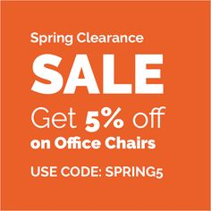Spring Clearance Sale! Get 5% off on Office Chairs - Use Coupon Code: SPRING5 http://www.manhattanhomedesign.com/shop-by-category-promo.html?utm_content=buffer2a627&utm_medium=social&utm_source=pinterest.com&utm_campaign=buffer #salesalesale #officechairs #eameschairs #springsale #spring2017 #offer #discount