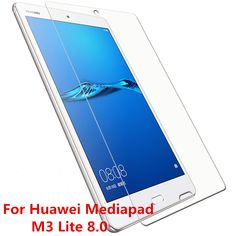 2Pcs/Lot Screen Guard for 8'' Huawei MediaPad M3 Lite 8.0 CPN-W09 CPN-AL00 9H Tempered Glass Screen Protector Protective Film //Price: $11.22//     #Gadget