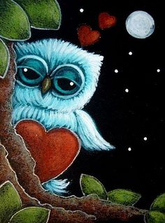 The Owl Theme Decorative House Banner Double-sided Garden Flag Yard Flag Paper Owls, Owl Pictures, Beautiful Owl, Little Owl, Owl Art, Cute Owl, Art Portfolio, Painting & Drawing, Fantasy Art