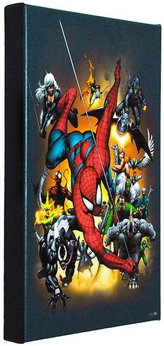 Spider-Man - Marvel Universe Hand Book Spider-Man 2004 - Marvel Comics - World-Wide-Art.com