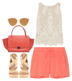 Rome - #121 by lexi-baci on Polyvore featuring Alice + Olivia, Milly, Steve Madden and Tory Burch