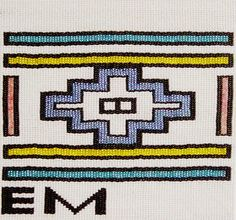 Esther Mahlangu South African Design, Brand Inspiration, Textile Prints, African Art, Chevrolet Logo, Print Patterns, Graphic Design, Fresh, Beads