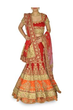 Exquisite Bridal Lehengas in Vogue