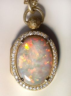 stones opal by locket thedeeps four lockets antique beautiful pin plated