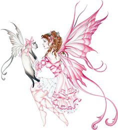 cat fae and fairy