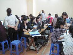 Lớp học kế toán doanh thực hành