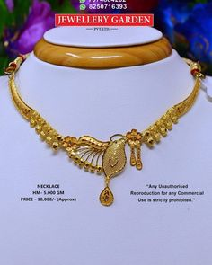 Gold Necklace Simple, Gold Jewelry Simple, Gold Necklaces, Jewelry Design Earrings, Necklace Designs, Jewelry Sets, Gold Bangles Design, Gold Jewellery Design, Bridal Bangles