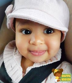 Kaia Janaé - 1 Year • Palestinian, Jamaican & Vincentian (Vincy) ♥️ FOLLOW @BEAUTIFULMIXEDKIDS http://instagram.com/beautifulmixedkids