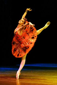 "Ekaterina Kondaurova in ""The Firebird"" (Mariinsky Ballet). Photo by N. Razina"