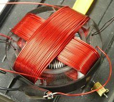 Tesla's rotating magnetic field generator