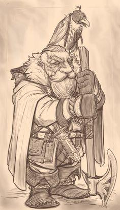 Dwarf fighter ranger