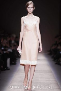 Valentino at the Paris Fashion Week Spring 2013 October 02nd, 2012  via NowFashion.com
